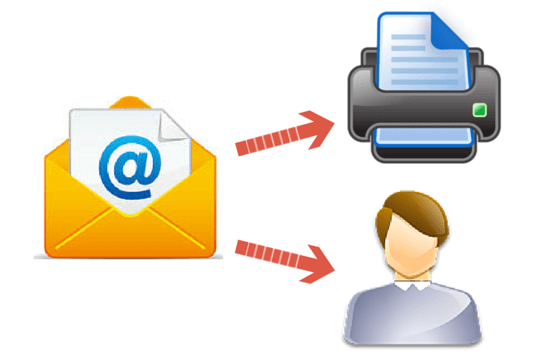 Email Prints & Forwards